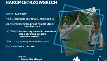 Warsztaty opiekunów prób harcmistrzowskich!