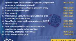 Szkolenia online dla HKSI ZHP Chorągwi Krakowskiej